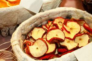 В чем польза сушеных яблок