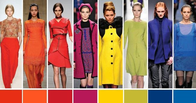 Модные цвета весна-лето 2017