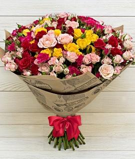 Грамотное распределение обязанностей специалистами сервиса доставки цветов
