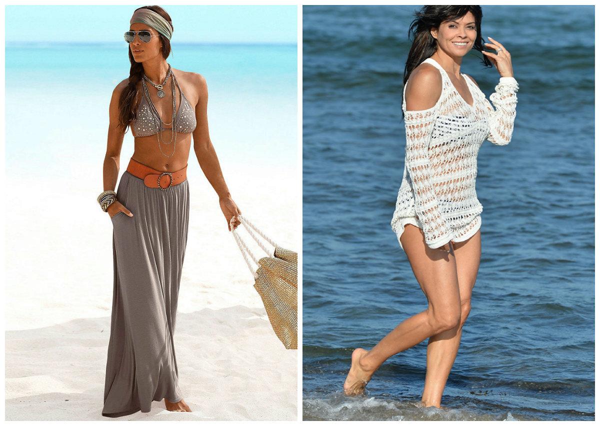 Разновидности женской пляжной одежды